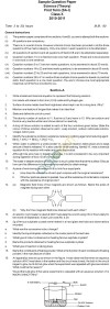 CBSE Board Exam 2013 Sample Papers (SA1) Class X - Science
