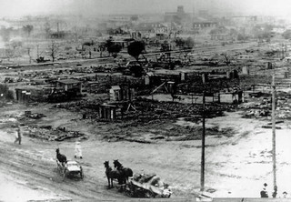 Ruins of Greenwood Section of Tulsa: 1921