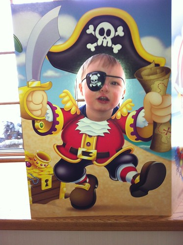 Charlie the Pirate! ARgh!