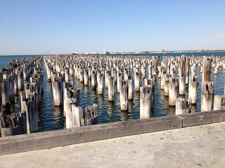 Princes Pier piles aucourantnow (2)
