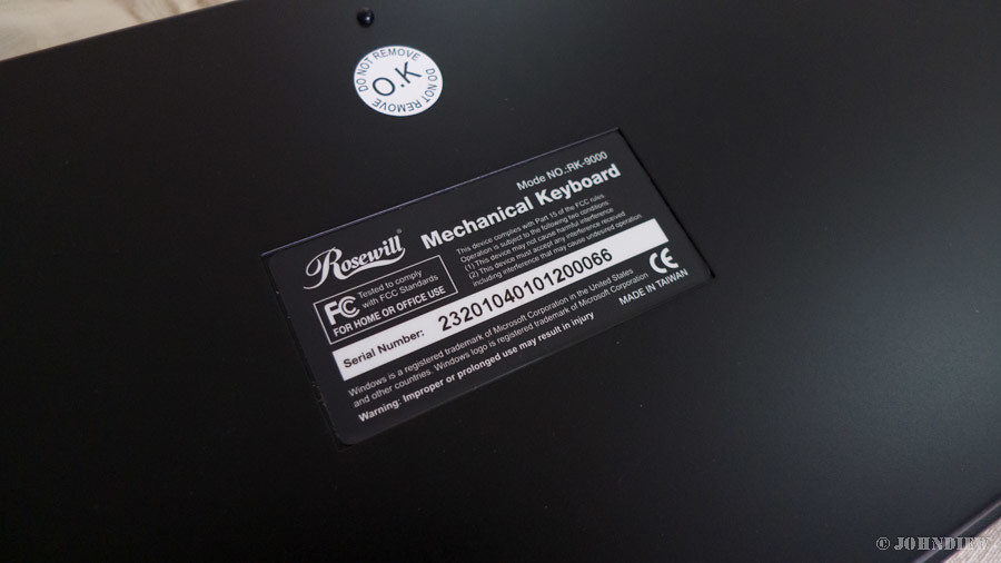 Rosewill RK-9000 - 16