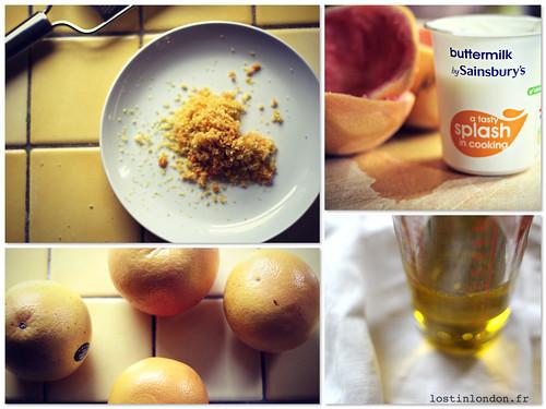 cake pamplemousse huile d'olive