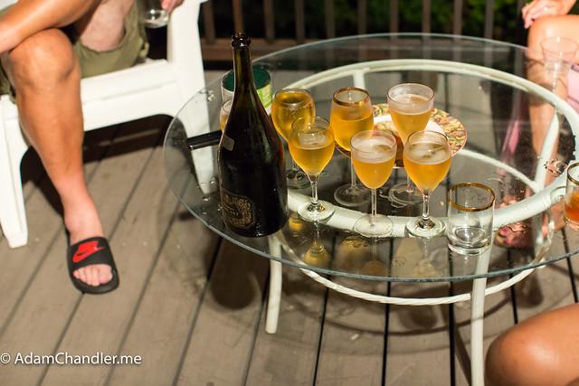 Bermuda Trip, 2016 (Champagne)