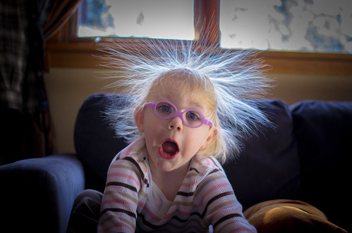 Penny's Hair and Static Electricity by TheJeremyNix