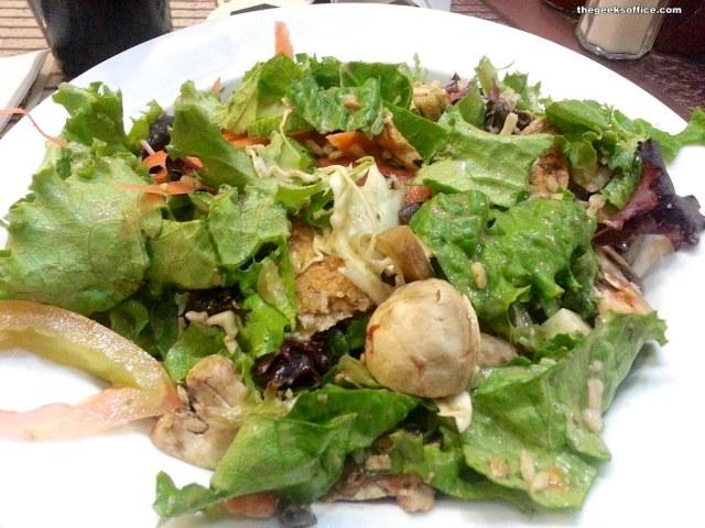 Power Chopper Salad at Wahoos