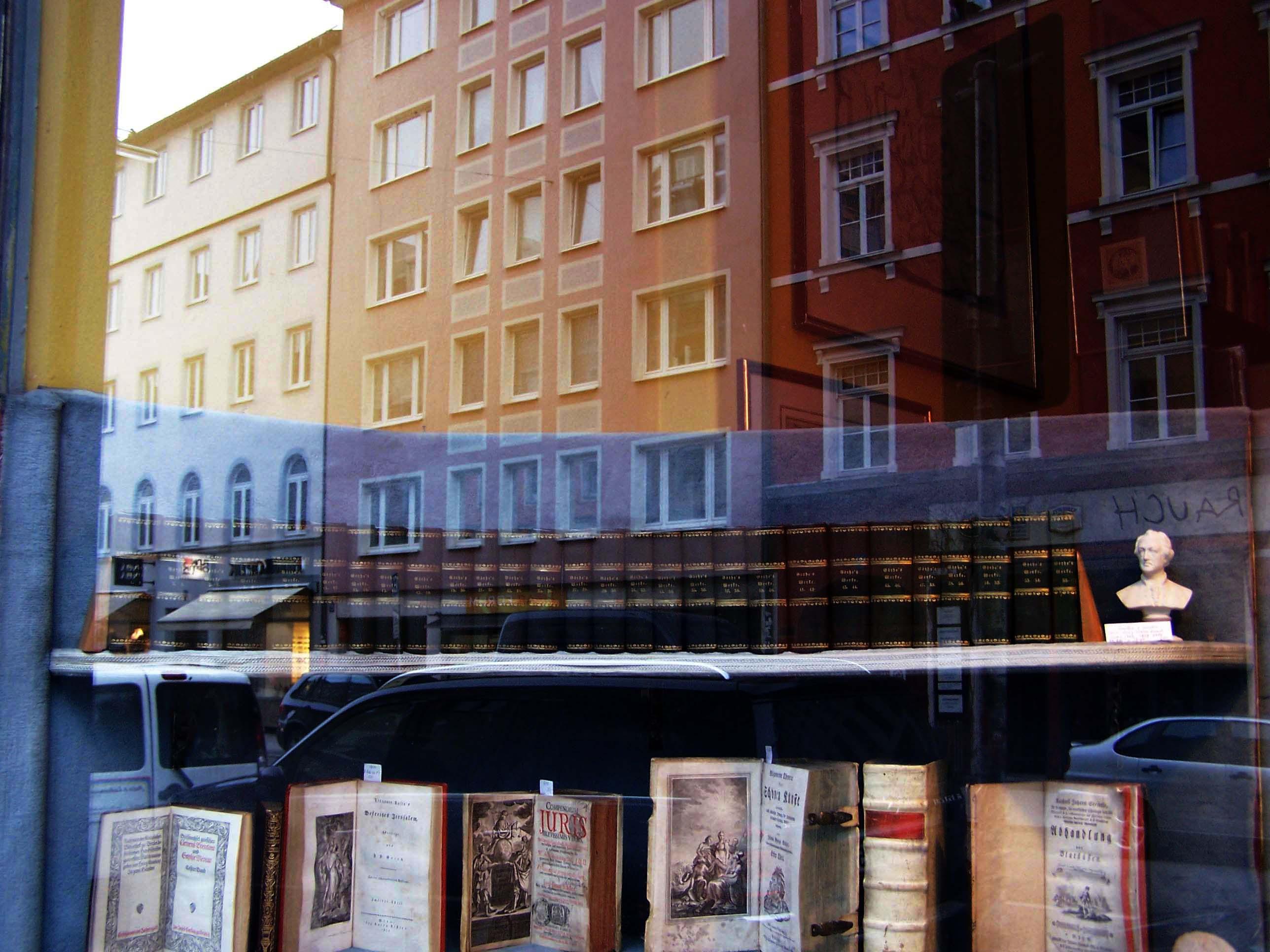 Antiquariat Hauser Schellingstraße München, Goethe Vollständige Ausgabe letzter Hand 1827–1830