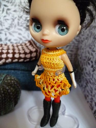 petite blythe knit dress
