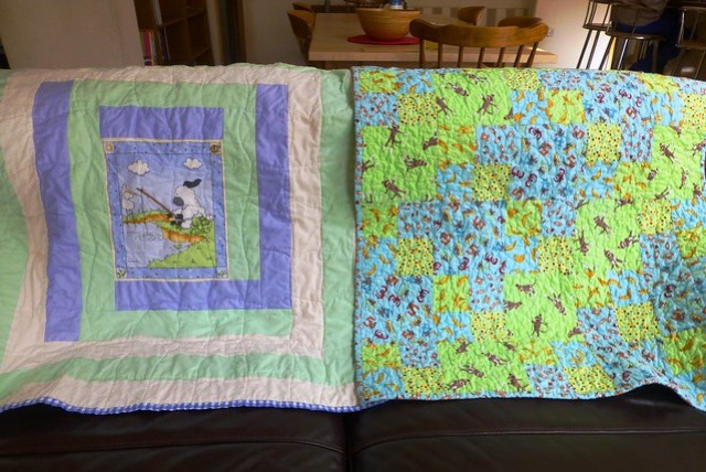 Bee Blessed baby quilts 002