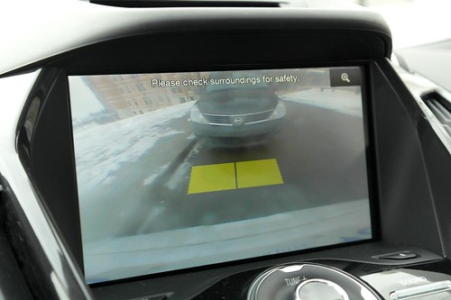 Rear View Camera Warning - #LexGoFurther - A Ford Escape