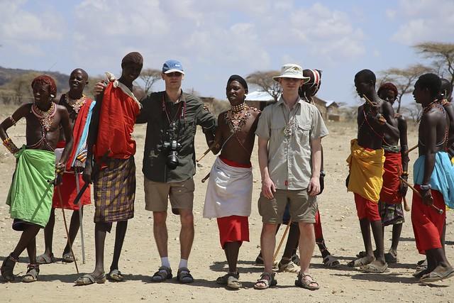 Me with a Samburu tribe