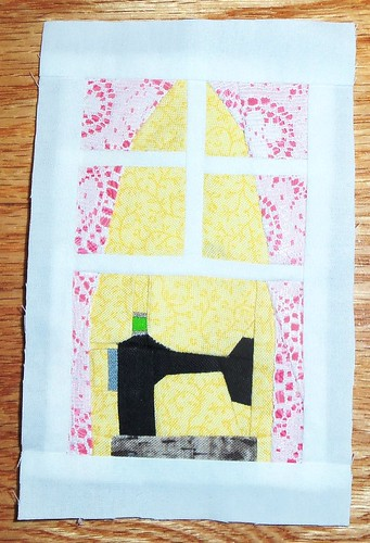 Window block #2 for Silort... by ruthiequilts