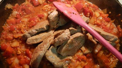 Pork in Tomatoes 19
