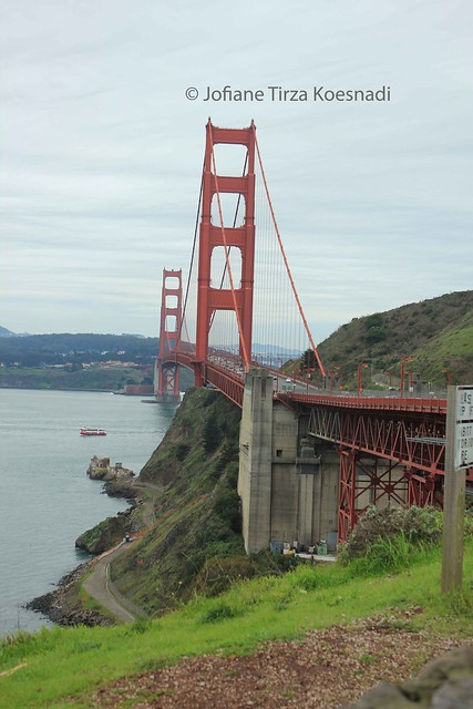 SF - golden gate bridge - north marin point