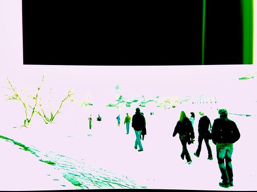 Les couleurs de Prague, un hiver.