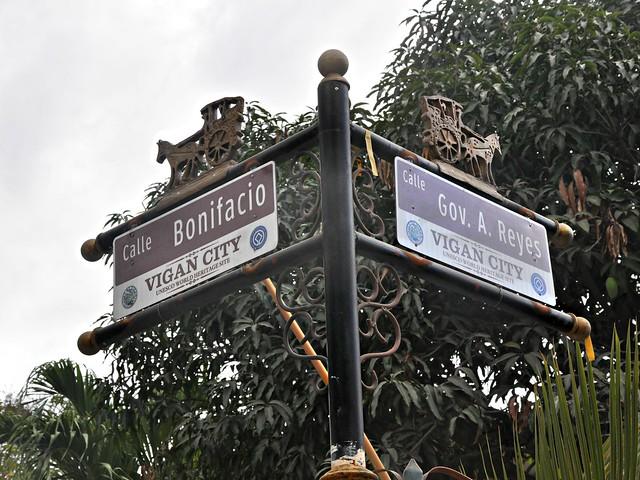 Calle Bonifacio, Vigan