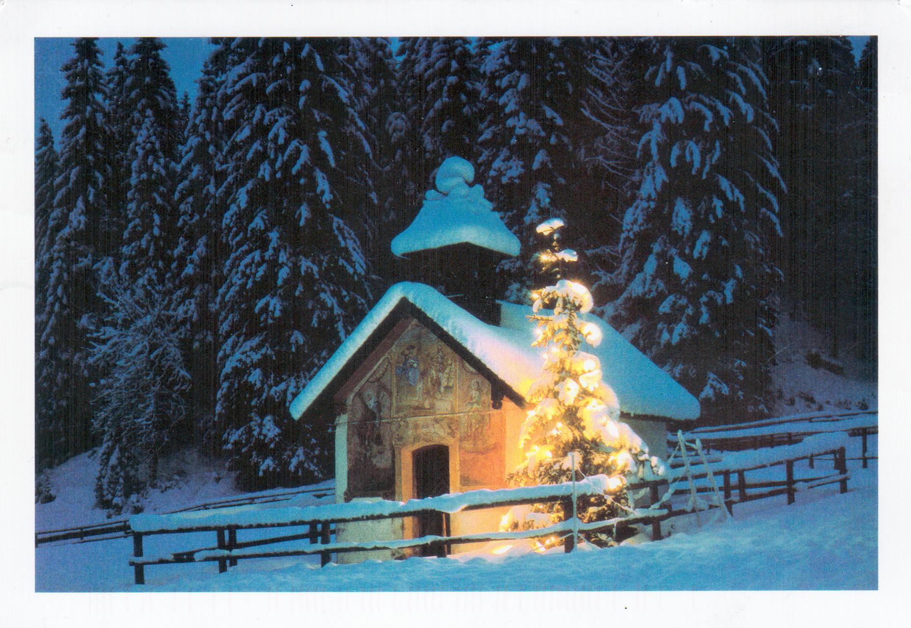 Christmas postcard (Switzerland)