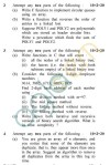"""UPTU MCA Question Papers - MCA-202 - Data And File Structure Using :""""C"""" (Special Examination)"""