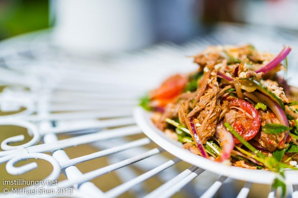 Three Blue Ducks - duck salad