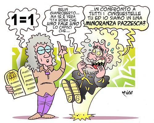 Minority Grillo by Moise-Creativo Galattico