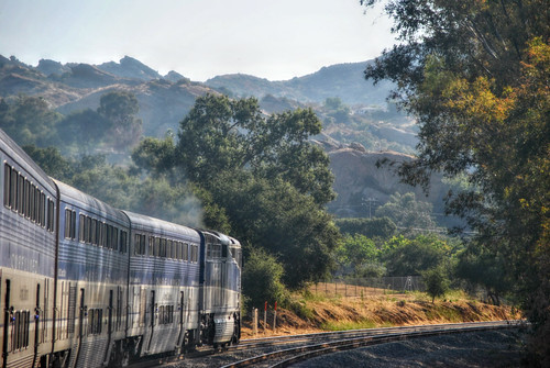 Amtrak Pacific Surfliner @ Simi Valley California by Loco Steve