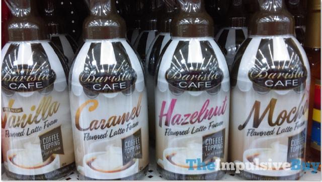 Sebastiano's Barista Cafe Flavored Latte Foam
