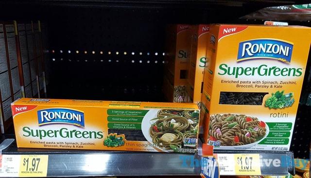 Rozoni SuperGreens (Thin Spaghetti and Rotini)