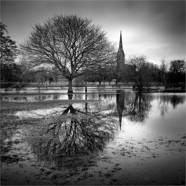 Reflections of a Spire