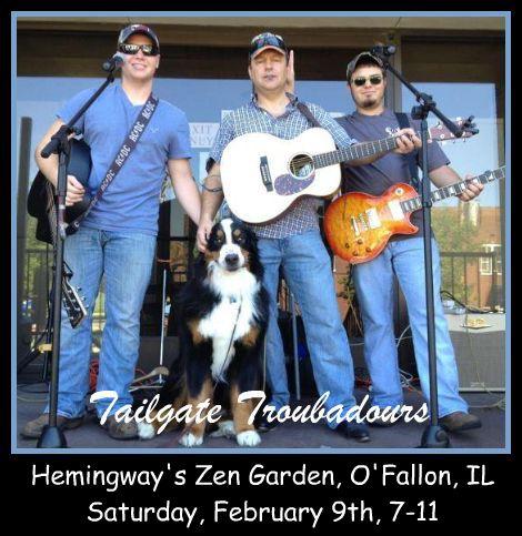 Tailgate Troubadours 2-9-13