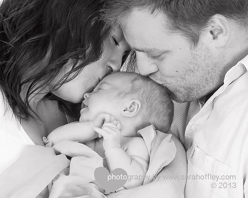 newborn family photo jan 2013