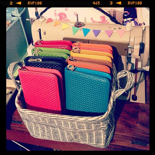 [NEW] Leather Purses :: Available in an assortment of rainbow colours!