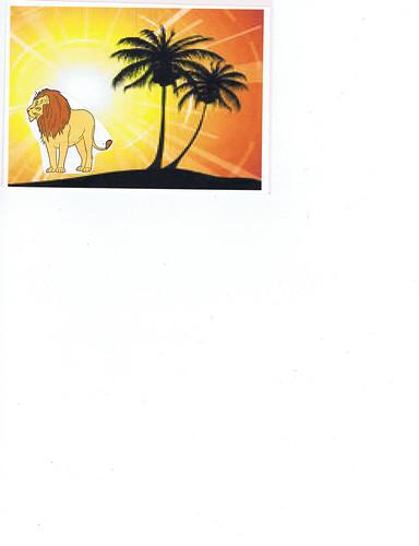 S8's Zoo Postcard