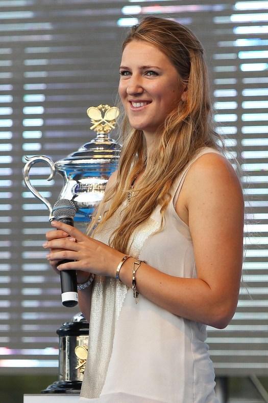Victoria Azarenka At 2013 Australian Open Draw Ceremony ...