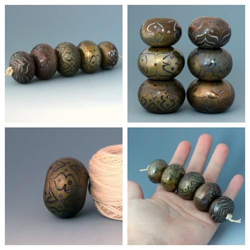 jan 20 metallic moroccan hollows collage by wandering spirit designs