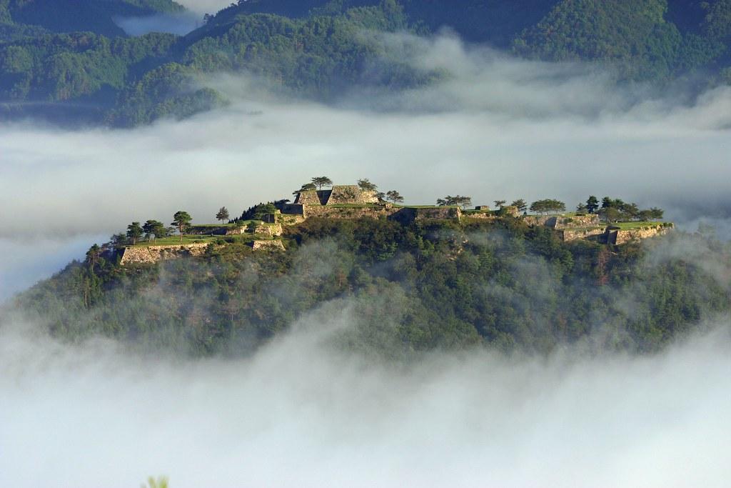 Machu Picchu in Japan Takeda castle ruin