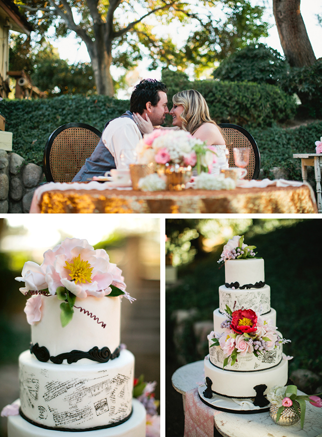 Styled Shoot French Vintage Glam Wedding At Legends Ranch
