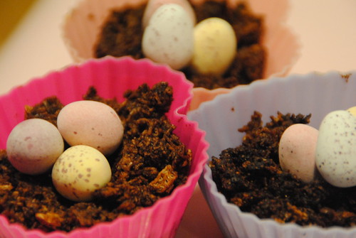 easter nests sugar free