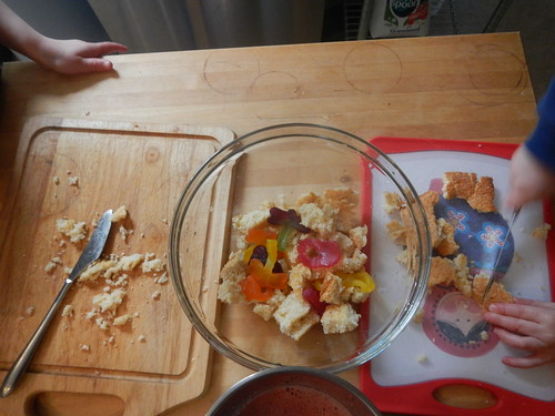 Cooking Day - chopping