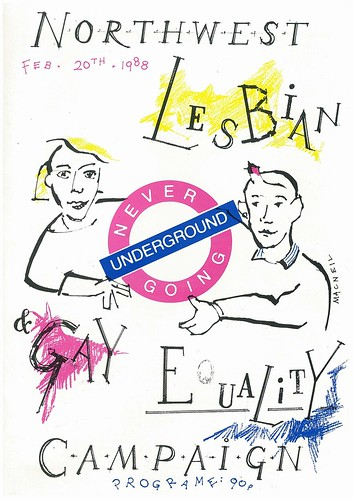 Northwest Lesbian & Gay Equality Campaign 1988