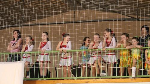 Aerobics team