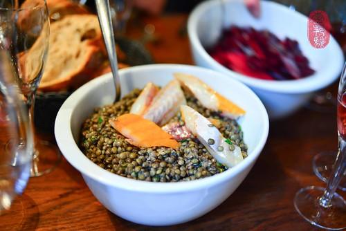 1st Course: Lentil Salad