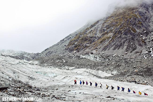 Fox Trot Fox Glacier NZ   Glacier Hiking in South Island New Zealand
