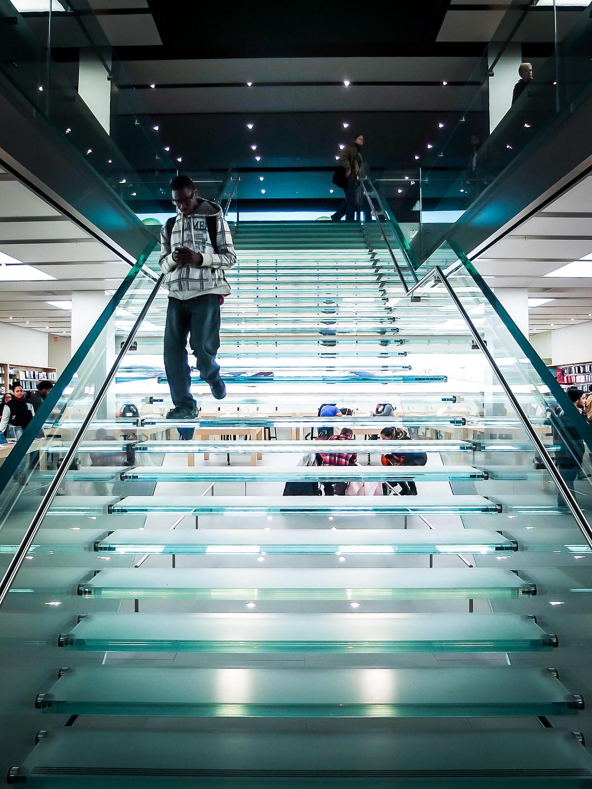 Glass Stairs by wwward0