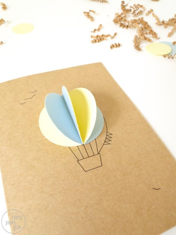 Hot Air Balloon Invite