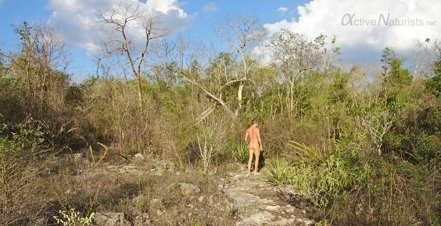naturist 0011 cenotes near Merida, Yucatan, Mexico