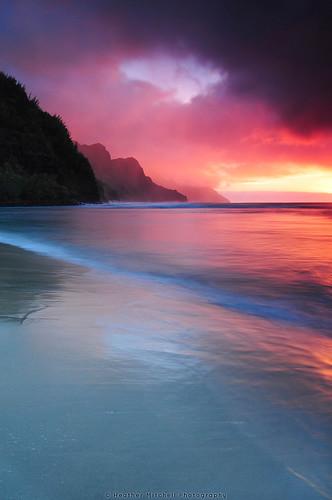 Kauai Sunset by Heather.Mitchell