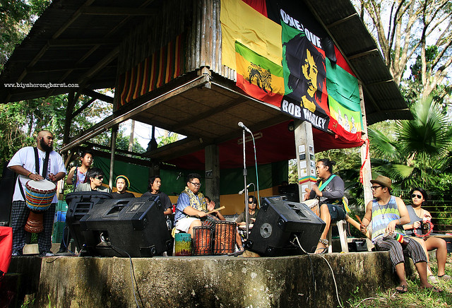 Katribu Kolektib in 5th Bob Day Roots Festival Tiaong Gubat Quezon