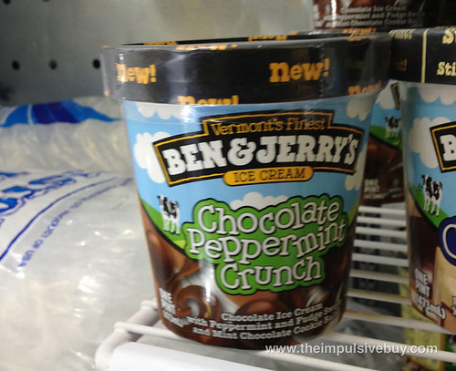 Ben & Jerry's Chocolate Pepperming Crunch