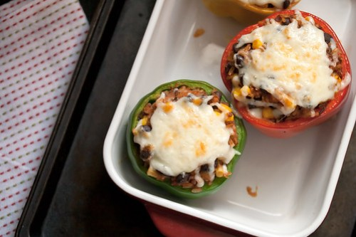 Mexican-Style Vegetarian Stuffed Peppers