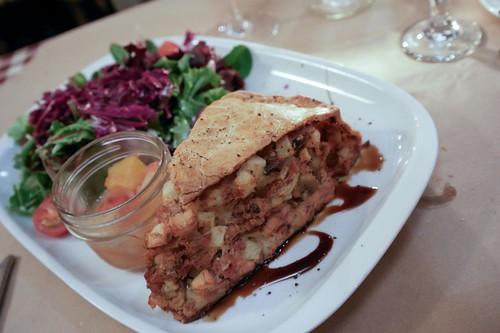 Rabbit Pie at Le Lapin Sauté - #LexGoFurther