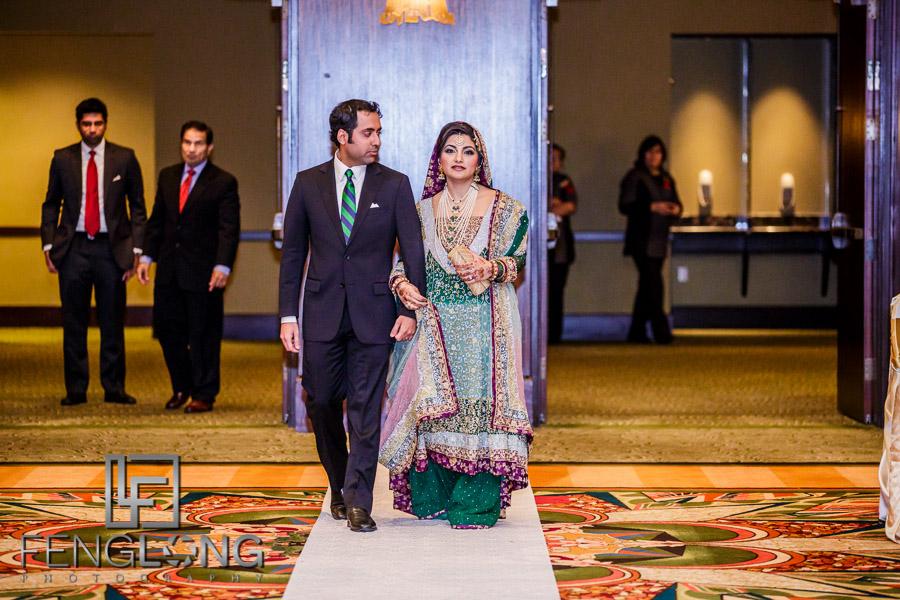 S & A's Valima | Hilton Americas-Houston | Houston, Texas Destination Pakistani Wedding